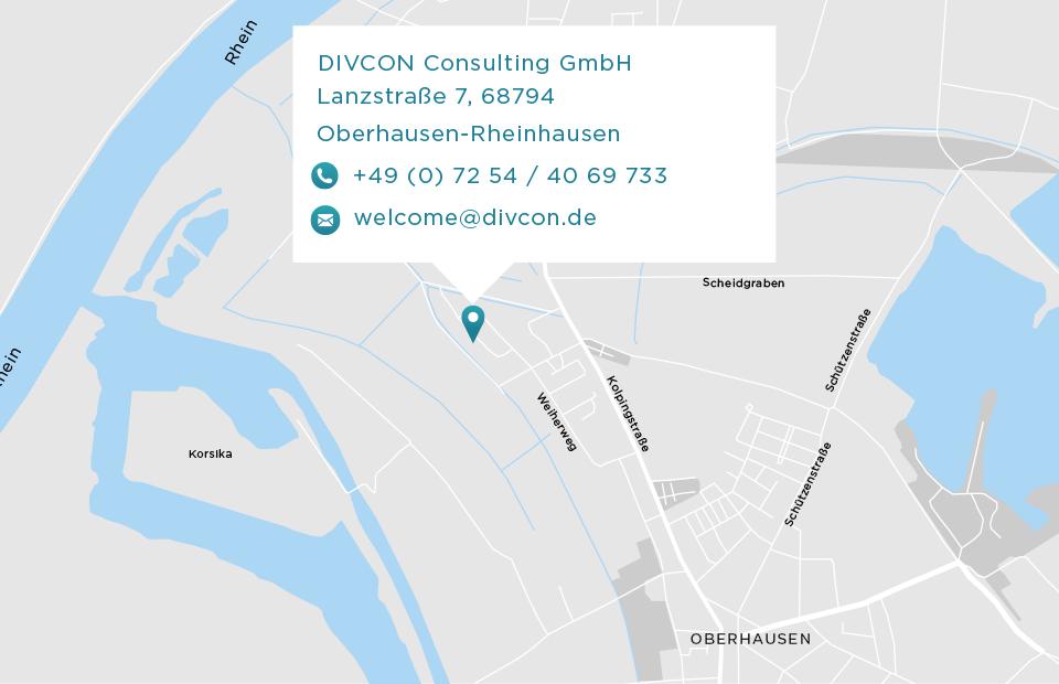 Anfahrt zu Divcon